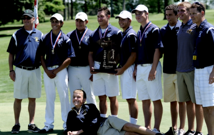 Sand Save Powers Dewitt Golfers to Title!