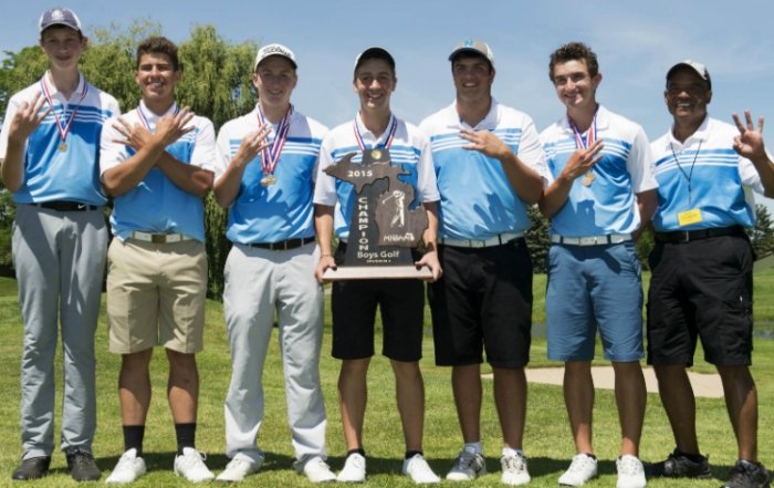 Three-Peat for Lansing Catholic Boys!